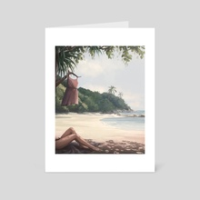 Summer Vibes - Art Card by Madli