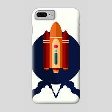 Spaceship. - Phone Case by Iryna Derenska