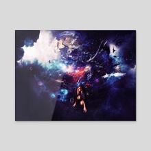 Universe - Acrylic by Marco Escobedo