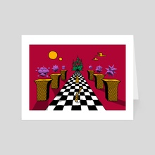 Courtyard Emissary - Art Card by Austin MacDonald