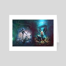Artemis Fowl 7+8 - Art Card by Shayu Dan