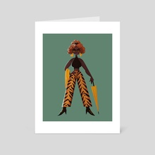 Fashion Forward - Art Card by Alex Louise H.