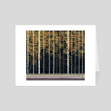 Aspens - Art Card by Jack Preen