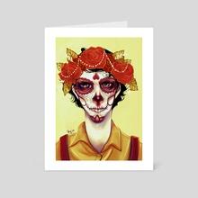 The Dead do not Speak - Art Card by Sky Wong