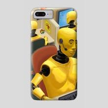 Robots - Phone Case by Devin Fallen