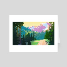 MountainPass - Art Card by Nicholas Kennedy