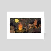 Fairy Dance (cropped) - Art Card by Gabbi  Small