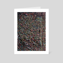 Gumwall - Art Card by Matt Boyle