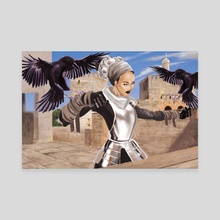 Surma the Crow Tamer - Canvas by William Jamison