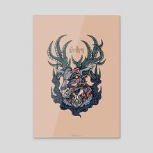 Sanggira - Acrylic by Andreas Kurniawan