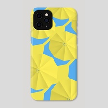 Umbrellas - Phone Case by Eric Sylvester