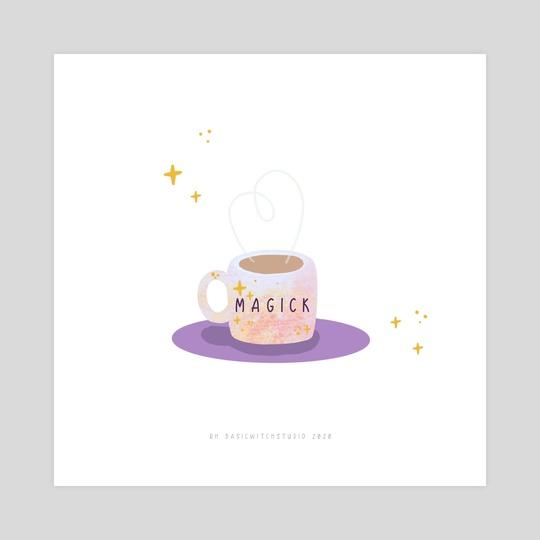 Coffee - the magical elixir  by Rachel Hughes