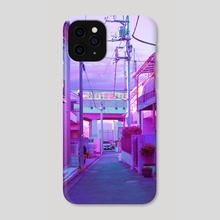 Lavender Alleyway - Phone Case by Elora Pautrat