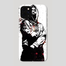 Tupac - Phone Case by Nikita Abakumov