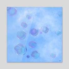 Float - Acrylic by Emily Bowen Moore