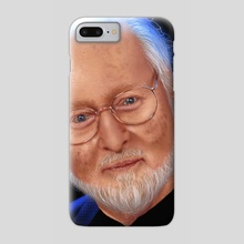 John Williams - Portrait - Phone Case by Juan Carlos Guzmán