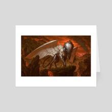 Enigma Sphinx - Art Card by Chris Rahn
