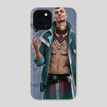 "Android - ""The Con Artist"" - Phone Case by Matt  Zeilinger"