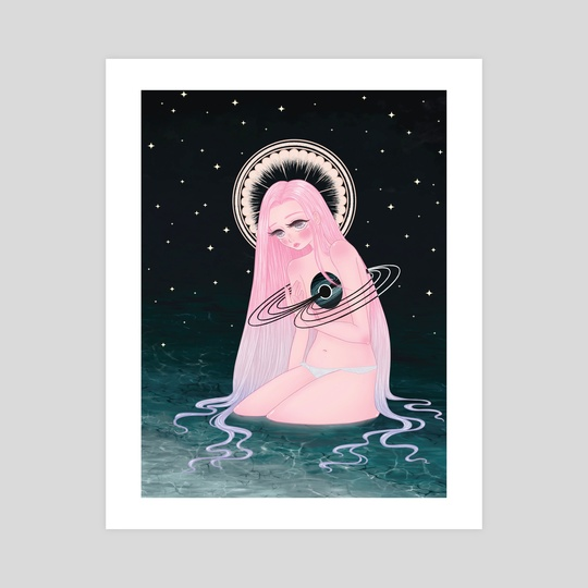 Black Hole Goddess by Bunny Yi