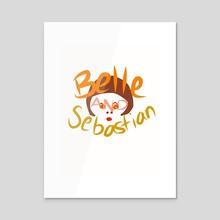 Belle and Sebastian #3 - Acrylic by Lauren Scott
