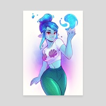 Mist in CasualMermaid Cosplay - Canvas by Christina Barton