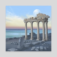 Columns - Canvas by Ashley.art