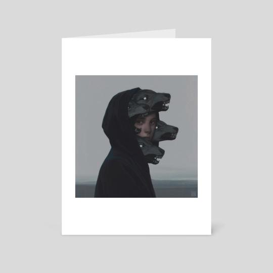 Wolf Pack by Yuri Shwedoff