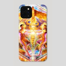 Rising Love - Phone Case by Louis Dyer