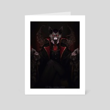 Let Evil Reign - Art Card by Suta Still