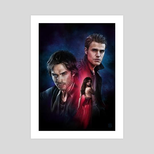Vampire Diaries by Straife01