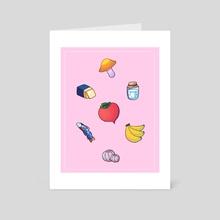 breath of the wild items - Art Card by camkatsu