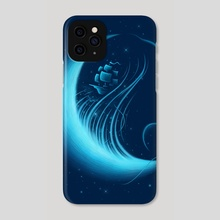 Moonlight Grace - Phone Case by Enkel Dika