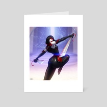Countess Got Back - Art Card by Barret XIII