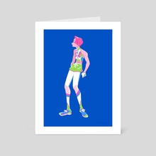 athleisure 01 - Art Card by hotaru jaejae