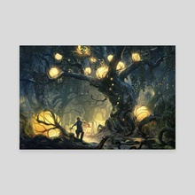 Heart of The Forest - Canvas by Tuomas Korpi