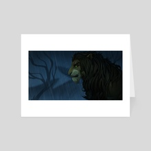 Scar's Reign - Art Card by Chocolace