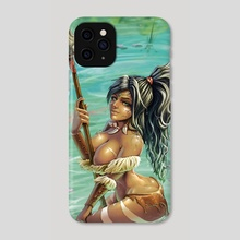 Nidalee - League of Legends - Phone Case by Synsinsyn