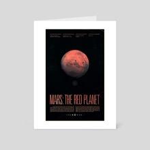 Mars - Art Card by Ross Berens