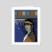 Medea - Art Card by Telênia Albuquerque