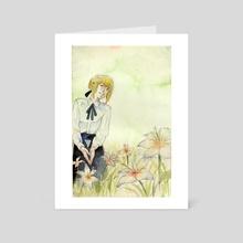Saber Lilies - Art Card by Agha  Abiyasa
