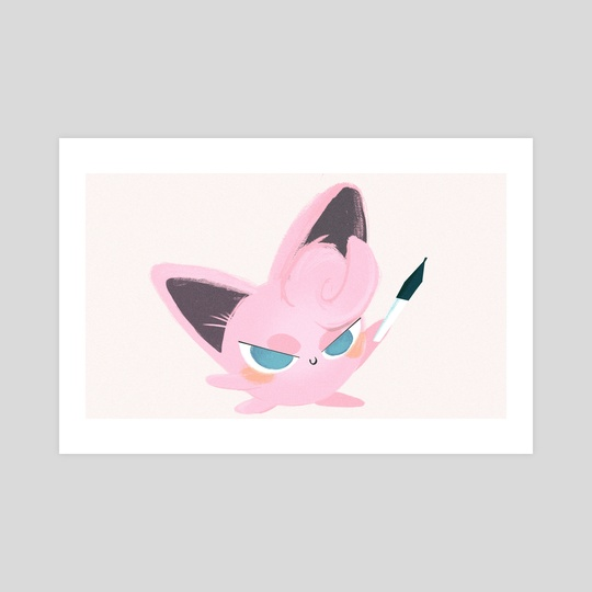 JIGGLYPUFF'T by James Jeffers