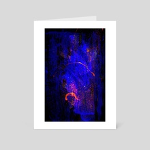 STP Screen Transfer Process - 0125 - The Gift of Inward 3 - Art Card by Wetdryvac WDV
