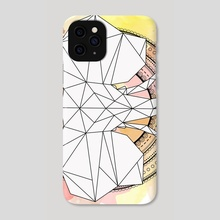 Elephant Mandala - Phone Case by Genevieve Blais