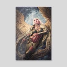Gaurdian Angel - Acrylic by Michael C. Hayes