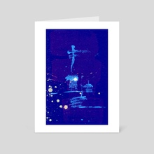 STP Screen Transfer Process - 0069 - Tethers 2 - Art Card by Wetdryvac WDV