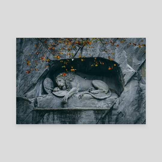 lowendenkmal // the lion of lucerne by sina iranikhah