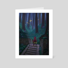 Fireflies  - Art Card by Rouche Ben