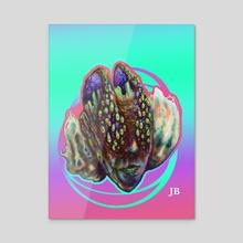 Loop Edge - Acrylic by Tatiana Kotelnikova