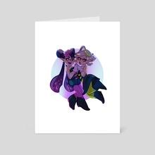 sea o' colors - Art Card by Agniya Kuznetsova
