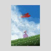 Porco Rosso - Canvas by Deny Saputra